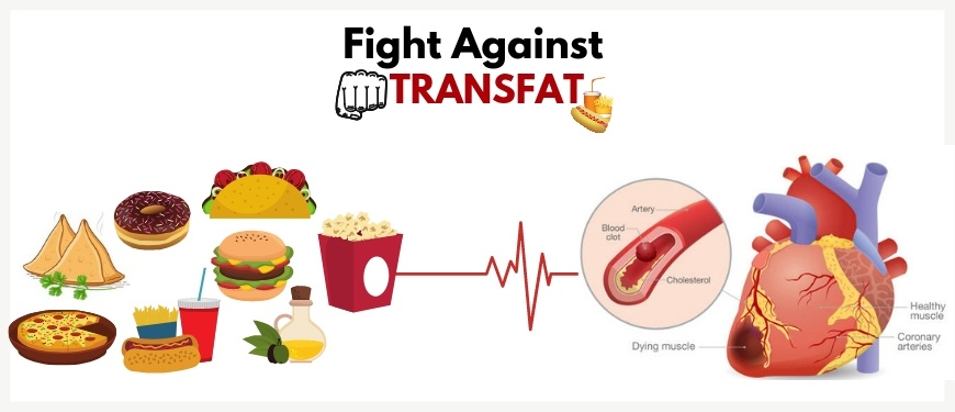 The fight against NCDs and trans fat