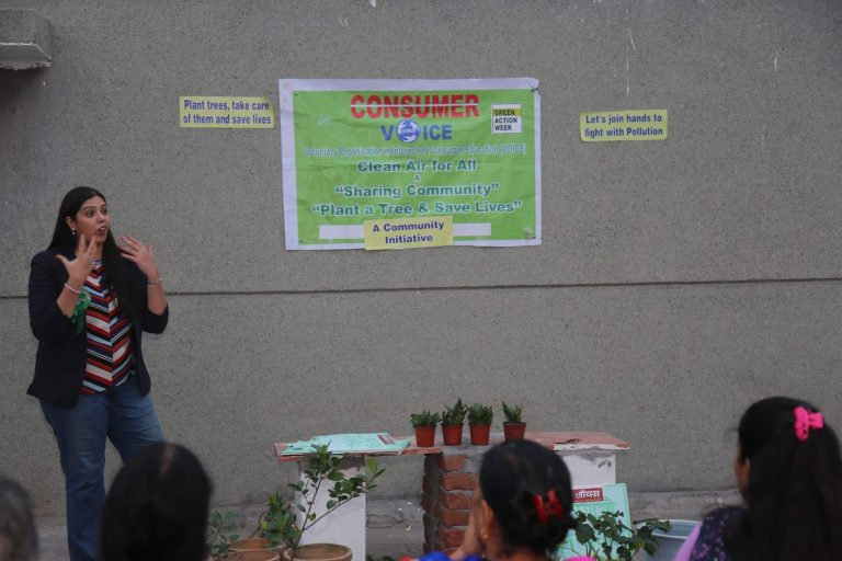 Green Action Week Workshop in Vivek Vihar and Ghaziabad
