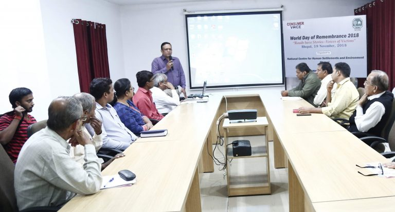 World Day of Remembrance for Road Traffic Victims (WDR) – Bhopal, Madhya Pradesh