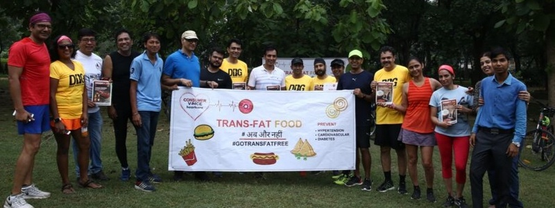 Run for a healthy Heart – An event to sensitise people on trans fat