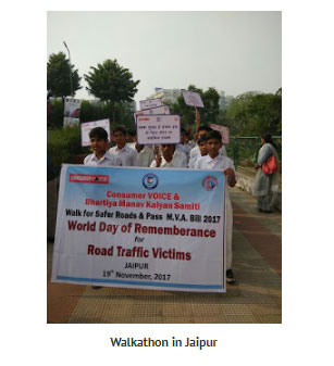 19th Nov – World Day of Remembrance(WDR) Jaipur, Rajasthan